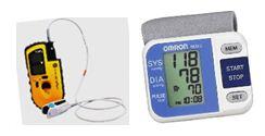Oxymètre et tensiomètre intégrés à l'e-health backpack